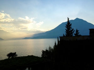 This was the view from our  villa in Varenna.