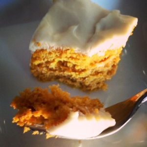Delicious #GlutenFree Pumpkin Cake Recipe