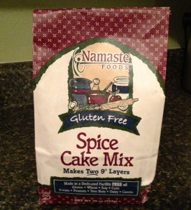 Namaste Gluten Free Spice Cake Mix