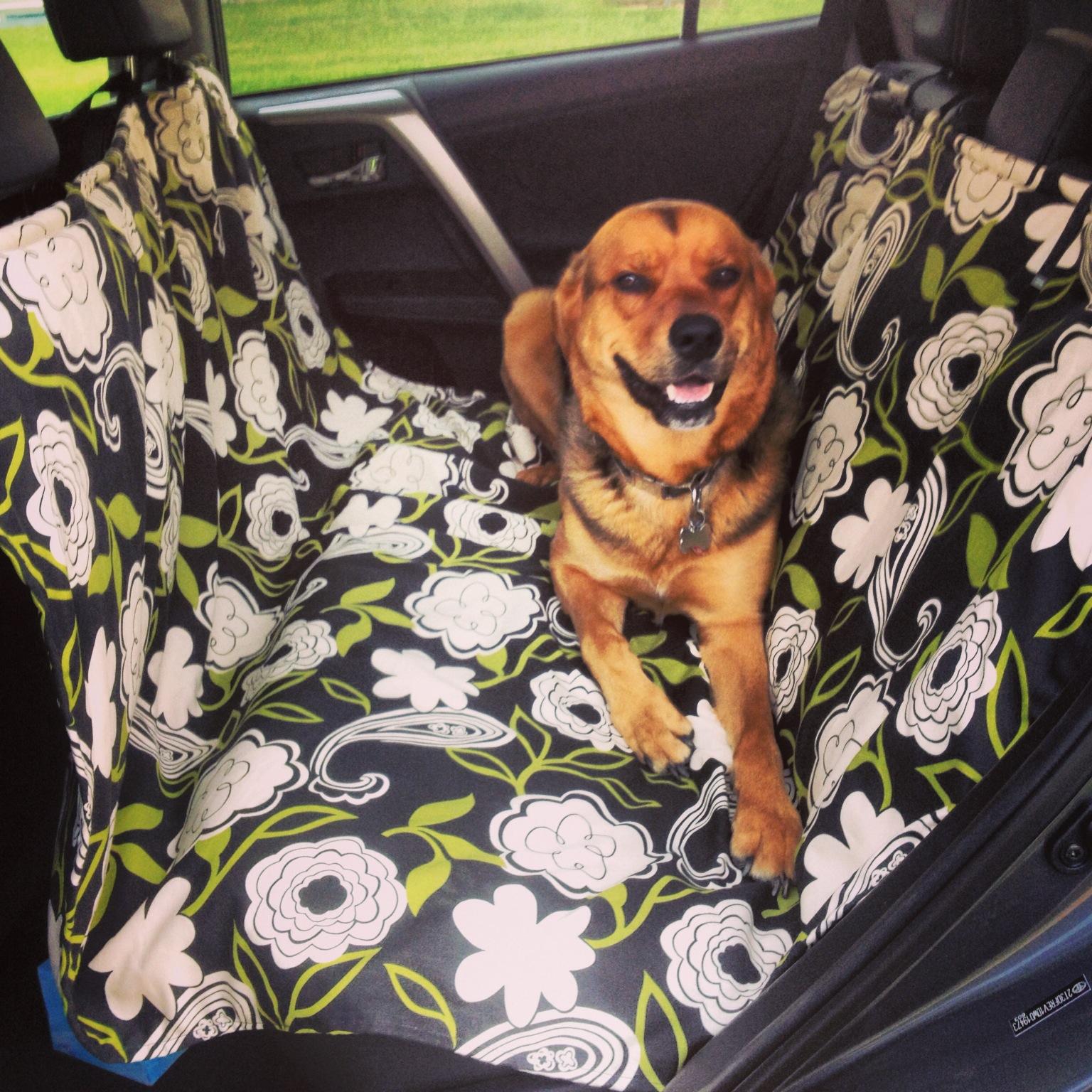 Handmade Dog Car Seat Cover